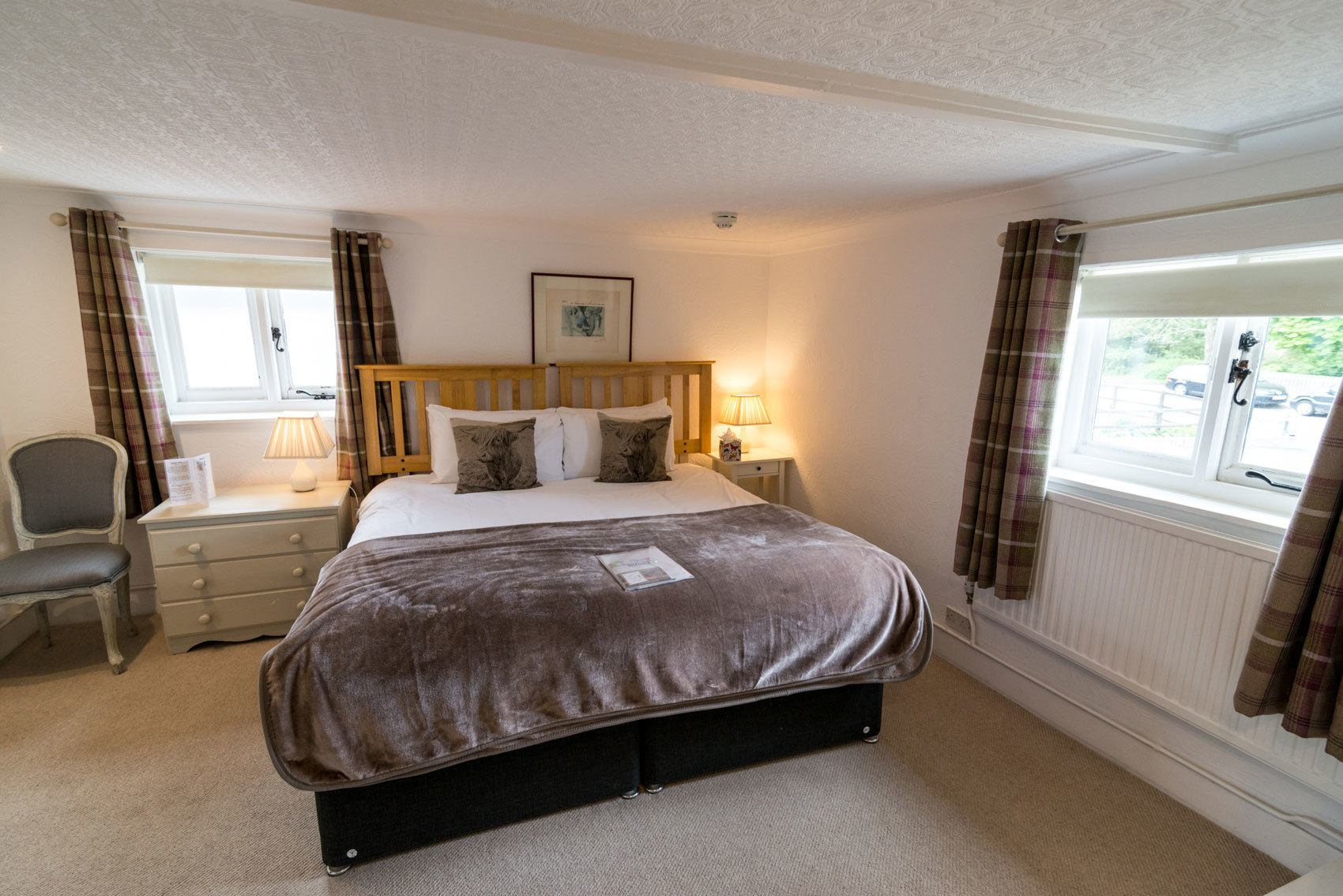 Foresters Twin Room Or Double Bed Cottage Lodge New Forest Hotel