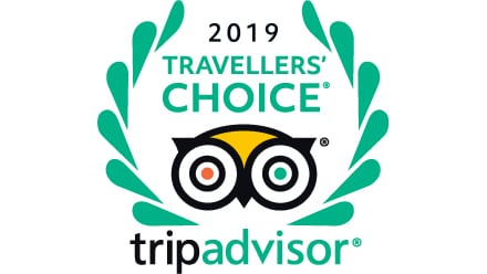 Cottage Lodge Hotel is Top 15 in the 2019 Travellers Choice by TripAdvisor
