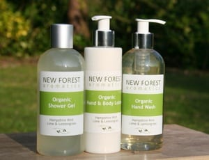 eco friendly hotel soaps new forest aromatics