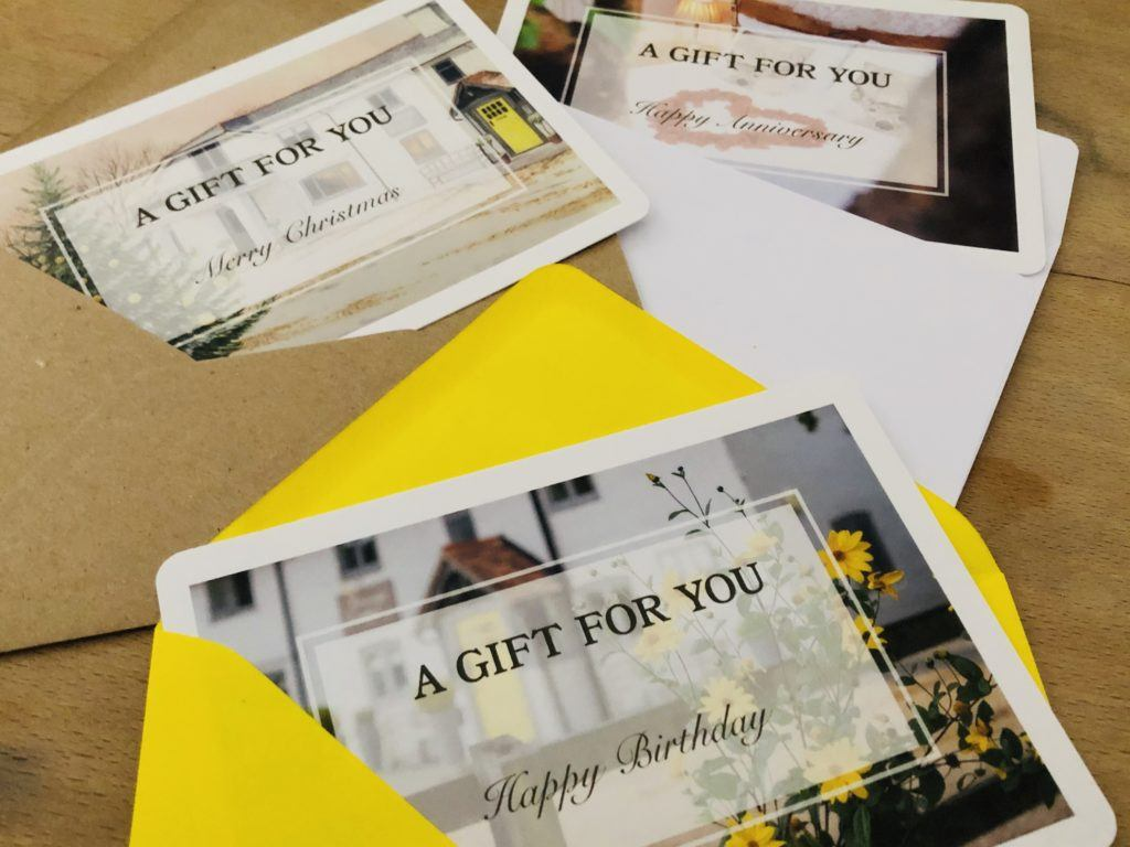 Cottage Lodge Gift Vouchers