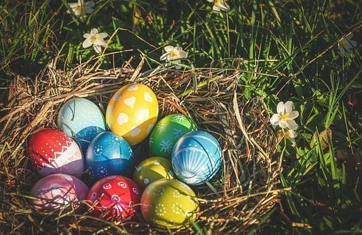 Traditional Easter egg activities for families